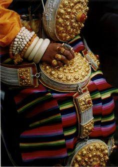 Khampa Woman's Jewellery, Tibet