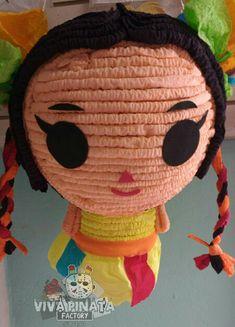 Piñata Muñeca Mexicana