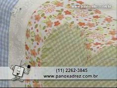 Tia Lili no Ateliê na TV (26/08/11): Painel de corações, com aplicações