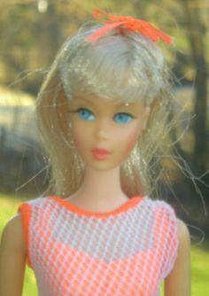 Barbie 1967 Twist 'N Turn 1160 Champagne Silver Oxidized Just Gorgeous | eBay