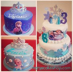 Frozen cake - Mary's Cake Shop