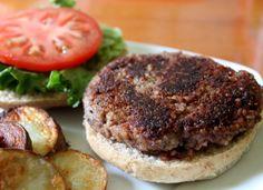 Smoky hickory quinoa and black bean burgers