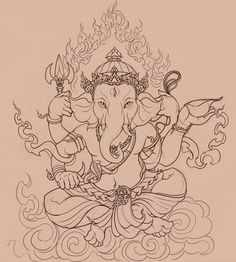 Ganesha by ~PinGponG83 on deviantART
