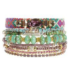 Beautiful Beaded Jewellery #beach #boho #bohemian #jewellery #hipanema Bohemian Jewellery, Beaded Jewellery, Jewelry, Bohemian Beach, Boho, Turquoise Bracelet, Bracelets, Unique, Accessories