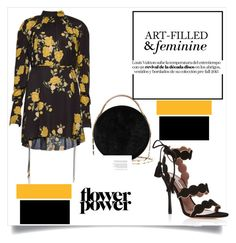 """""""Yellow Femme..."""" by nfabjoy ❤ liked on Polyvore featuring Magda Butrym, Tabitha Simmons and Eddie Borgo"""