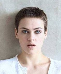 Image result for womens buzz cuts