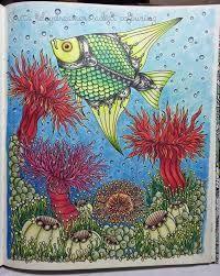 Resultado de imagen para peces dibujos con prismacolor