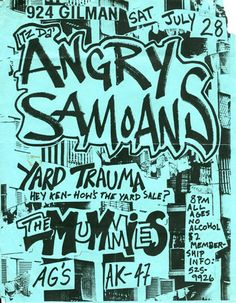 29 Amazing Punk Flyers From The