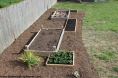 Raised Bed Gardens are a great way to incorporate food production into your backyard landscaping.