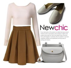 """""""NEWCHIC//1"""" by tamarasimic ❤ liked on Polyvore"""