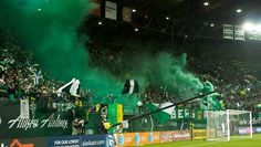 Timbers Army in perfect form. 3/12/12 #RCTID