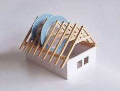 Materiales gráficos Gaby: Idea! Para guardar platos cuando hay poco espacio