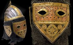 "Indian (Sind) helmet, 18th century, this exact helmet is illustrated in Haider, ""Arms & Armour of Muslim India"" p.103 and credited to the National Museum, Krakow Poland."