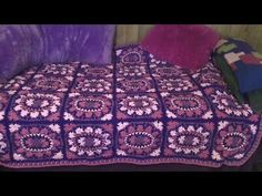 How to make this Beautiful Brocade Throw - Part 1 Left handed - YouTube