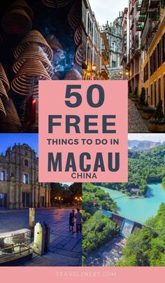 50 FREE things to do in Macau. The Macau Government Tourist Office (MGTO) at Senado Square is a great place to pick up free maps, brochures and tourist information. #Travel #china #asia #thingstodo #wowmacau #macao #freetravel