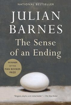 The Sense Of An Ending, 2011 The New York Times Best Sellers Fiction winner, Julian Barnes #NYTime #GoodReads #Books
