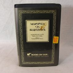 Mornings on Horseback by David McCullough Cassette Unabridged Audio Book