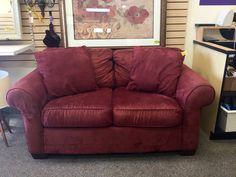 FIND QUALITY AFFORDABLE FURNITURE ARRIVING DAILY AT NEW USES: This Brick Red…