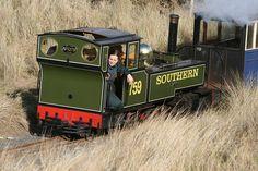 Yeo on the Fairbourne Railway, North Wales Live Steam Models, Steam Railway, Horse Drawn, Steam Engine, Steam Locomotive, Monster Trucks, Engineering, North Wales, British
