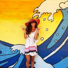 Hawaii restrooms are always painted so cute!  the island art #maui #northshoreart #aloha #hawaii