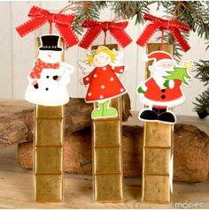 444e60d3ddc3b Colgantes árbol Navidad madera con napolitanas Arbol Navidad Madera
