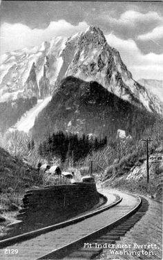 Mt. Index near Everett, WA