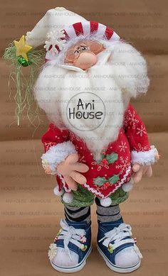 Christmas Signs, Winter Christmas, Christmas Themes, Christmas Crafts, Christmas Ornaments, Handmade Crafts, Diy And Crafts, Santa Decorations, Ugly Dolls