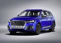 Geneve 2016 : Audi SQ7 TDI
