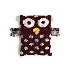 Poupée de coton biologique tricoté à Montréal Designer : Erica Perrot (RAPLAPLA)