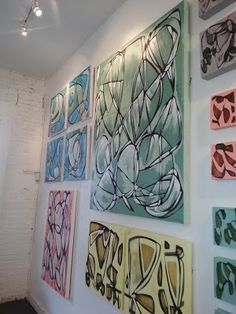 a visit to artist Amanda Talley's Gallery and studio was a highlight of my trip to #NOLA #ART #KBIS