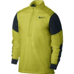 Combining flexibility and windproof protection the mens Hyperadapt golf wind jacket by Nike will keep you comfortable and focused on your game! Nike Outfits, Sport Outfits, Mens Golf Jackets, Nike Clothes Mens, Mens Golf Outfit, Wind Jacket, Mens Fitness, Gym Fitness, Golf Fashion