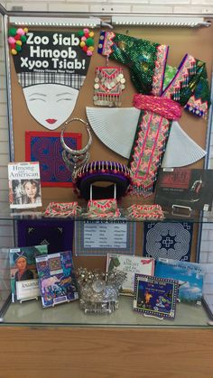 Hmong New Year Book Display @ Hayden Heights Library