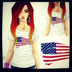 All- American American Ax♥
