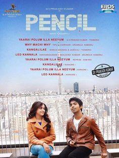 Pencil audio Track list  GV prakash sridivya