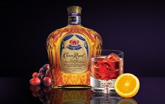Royal Flush  Enjoy it as either a drink or a shot.      Ingredients:     Crown Royal® - 1.25 oz.     Peach Schnapps - .5 oz.     Cranberry Juice - 2-3 oz.      Combine all the ingredients in a shaker of ice. Strain into an ice-filled rocks glass or into a shot glass. Garnish with an orange peel.