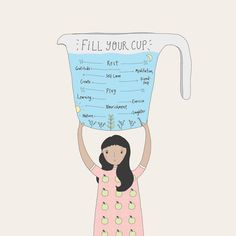 on a Monday - your gentle reminder. Take care of yourself Love this illustration via Self Care Activities, Self Care Routine, Self Love Quotes, Mental Health Awareness, Note To Self, Motivation, Social Work, Self Development, Take Care Of Yourself