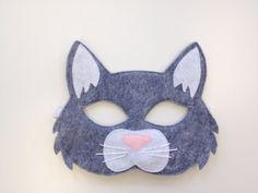 Cat Mask NEW CHILD by oppositeoffar on Etsy, $18.00