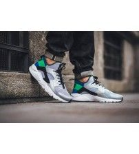 06bbfe7fad6e Nike Air Huarache Run Ultra Wolf Gris Vert