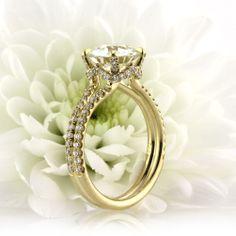 2.62ct Antique European Round Cut Diamond Engagement Ring 3570-1