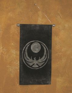 Hand Painted Skyrim Nightingale Canvas Banner - Wall-Hanging - Elder Scrolls - Sign - Wall Art - Two Color Options