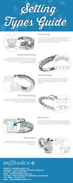 At Brilliance.com, our master jewelers use a variety of expert setting techniques to set and secure diamonds and gemstones in fine jewelry. When executed with precision and skill, a specific setting style can enhance the beauty and transform the look of a jewelry piece. For example, the classic prong setting gives a diamond greater prominence while reducing the appearance of the metal, while the contemporary bezel setting creates the illusion of a larger diamond and adds a more dramatic…