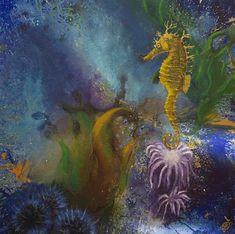 coral reef Art, Painting