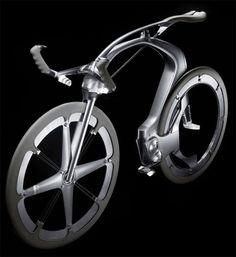 B1K Concept Bicycle Features Unique Chainless Drivetrain