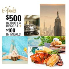 Electronic Discount Voucher Card for Hotels & Resorts featuring Hilton Worldwide & Restaurant.com E-Voucher at 94% Savings off Retail!