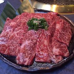 It is totally Yakiniku Weather!! Come to enjoy and experience Authentic Japanese BBQ  in NY. . :Short Tib :@yakinikugen in Turtle Bay Manhattan NY :@foodmaniacoc ______