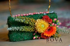 flower purse bridesmaids designing for Perfect Princess Events | Kim Bova Photography