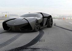 F-117 Nighthawk-Inspired Lamborghini Ankonian