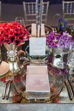 Bahamas Wedding, Beach Wedding, Purple Outdoor Ceremony, Purple Wedding Reception || Colin Cowie Weddings