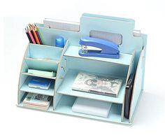 Creative Office Supplies Storage Box File Pen Pencil Holder Desk Organiser (Blue) OEM SYSTEMS COMPANY http://www.amazon.co.uk/dp/B00MC8IXES/ref=cm_sw_r_pi_dp_OQo1vb05XQE22