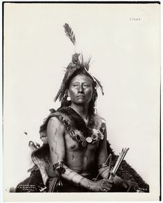 19th Century Portraits of Native American Indians ~ By Photographer Frank A. Rinehart